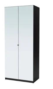 Armoire: Miroir complet en avant/ Full mirrored front!