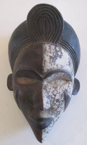 African Mask Wood | eBay