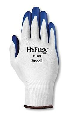 Ansell Hyflex 11-900 Nitrile Palm Coated Gloves Size 9 3 Pair