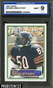 Mike Singletary Rookie