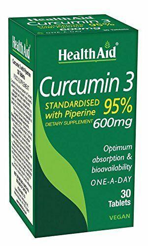 Health Aid Curcumin 3 30 VegCaps