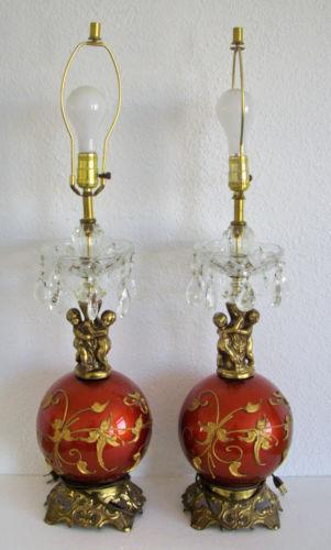 Cherub Lamp Ebay