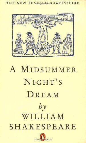 A Midsummer Night's Dream (The new Penguin Shakespeare),William Shakespeare, St