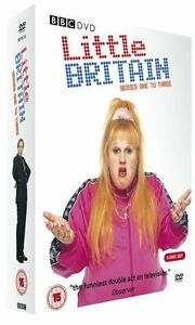 Little Britain - Complete Series 1-3 (3 DVD BOXSET) - BRAND NEW SEALED