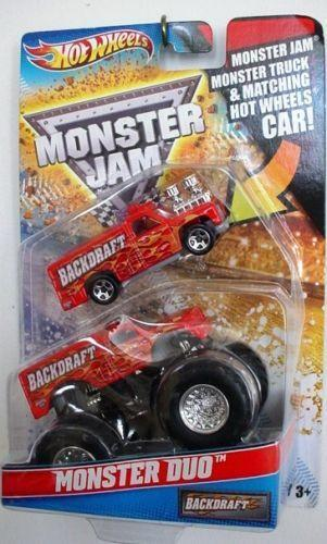 Backdraft Monster Truck | eBay