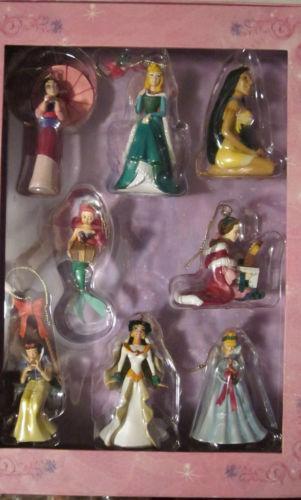 disney princess ornament set