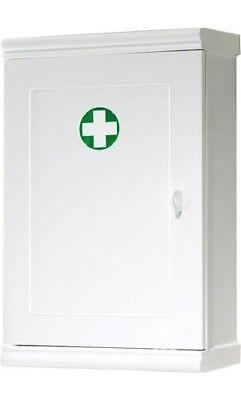 Armadietto Medicinali Cassetta Farmaci in Resina con Chiave Bianco Gedy 8035