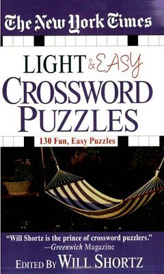 The New York Times Light And Easy Crossword Puzzles By The New York Times   Mass