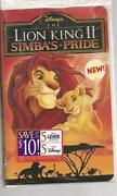 The Lion King II Simba's Pride VHS