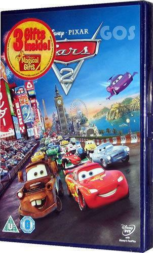 cars 2 dvd dvds blu rays ebay. Black Bedroom Furniture Sets. Home Design Ideas