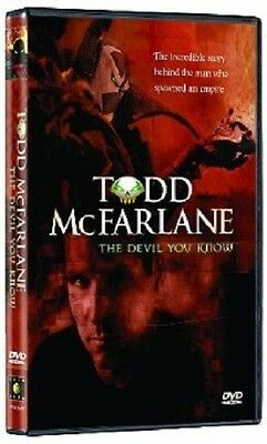 TODD MCFARLANE DEVIL YOU KNOW DVD Spawn Comic Book Artist Biography Art Gallery