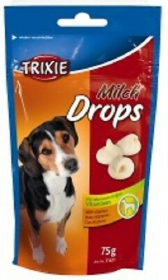 Trixie Milk Drops Dog/Puppy Treats With Vitamins 200g x 2