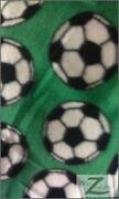 Soccer Fleece Fabric
