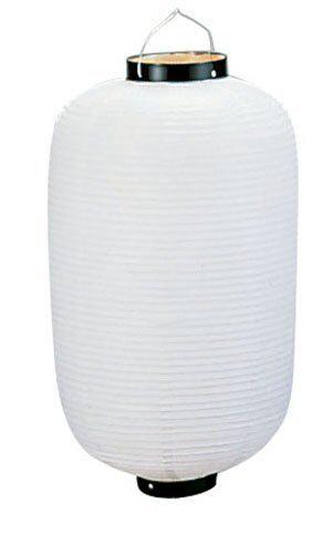 JAPANESE White Chochin Matsuri Festival Lantern from JAPAN 20in B006I2YAKK