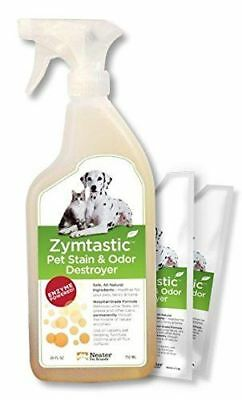 Zymtastic | Enzyme Based Stain & Odor Remover Urine Feces Blood for Dog or Cat