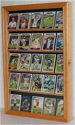 Football Baseball Basketball Hockey Card Display Case Wal...