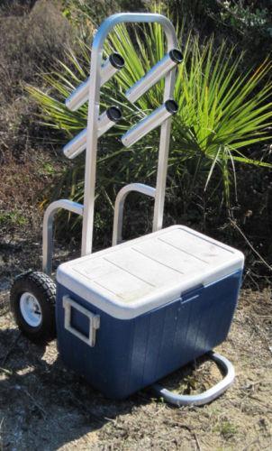 Pier cart fishing ebay for Pier fishing cart