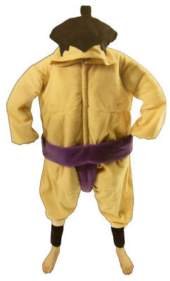 Men's Sumo Wrestler Halloween Sports Athlete Costume - Wrestler Halloween Costume