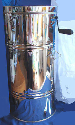 Honey Extractor 2 Frame Stainless Steel Bee Supply