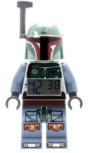 LEGO Star Wars Boba Fett Minifgure Clock