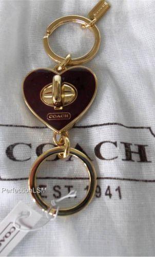 Coach Valet Key Ring Ebay