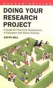 Doing Your Research Project
