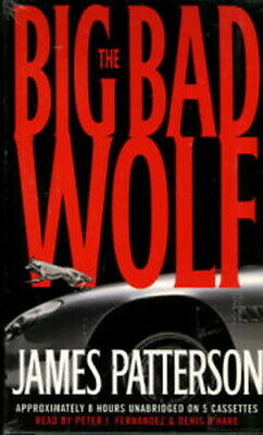 Audio book - The Big Bad Wolf by James Patterson  -  Cass