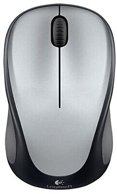 Logitech Wireless Mouse M317 With Receiver Silver M315 M325 Shape