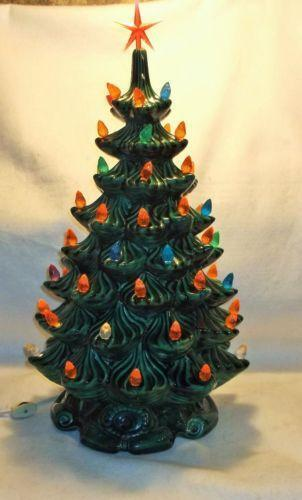 Ceramic Christmas Tree Lights Star Ebay