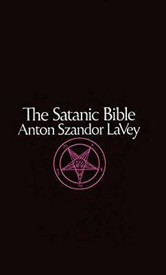 Satanic Bible by Anton Szandor LaVey New Paperback Book