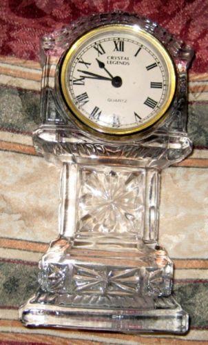 Crystal Legends Clock Ebay