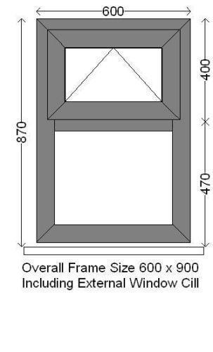 upvc windows made to measure ebay. Black Bedroom Furniture Sets. Home Design Ideas