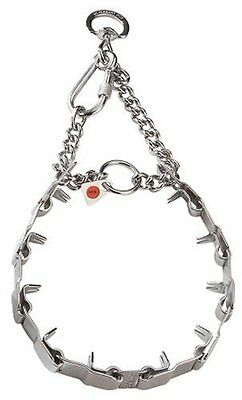 Herm Sprenger Neck Tech Dog Collar - Stainless Steel - Prong