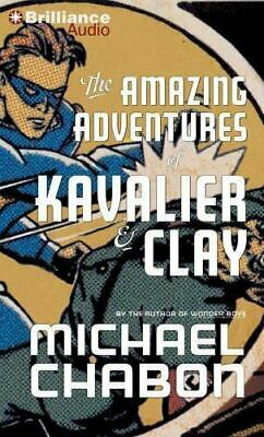The Amazing Adventures of Kavalier and Clay (2012, MP3 CD, Abridged) Audio (The Amazing Adventures Of Kavalier And Clay Audiobook)