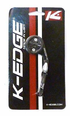 K-Edge Garmin Mount Black Silver for All Edge Computers K Edge
