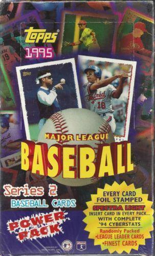 1995 Topps Baseball Cards Ebay