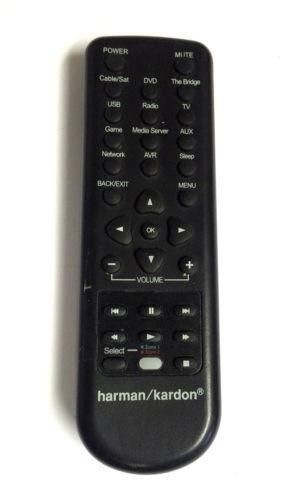 Ready to Use Universal Remote Harman Kardon click your model