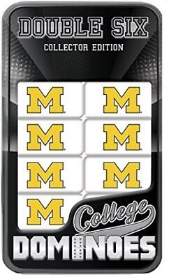 MasterPieces Michigan Wolverines Dominoes