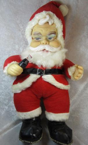 rushton santa ebay - Stuffed Santa Claus