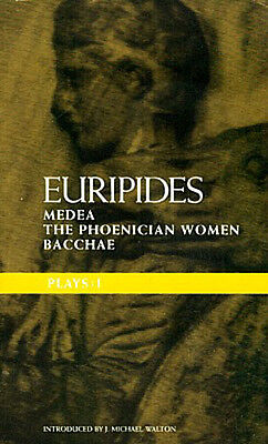 Ancient Athens Sparta Euripides Medea Bacchae Phoenician Women Dionysos Oedipus