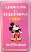 Disney Address Book