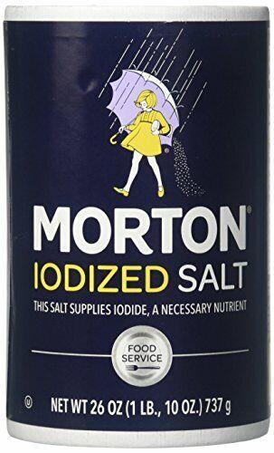Morton, Iodized Salt, 250 Grams(gm)