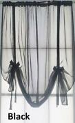 Voile Tie Blinds