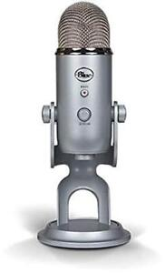 Blue Microphones Yeti USB Microphone - Silver Edition NEW