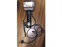 Vintage Metz 60CT-1 Handle Mount Flash Head Camera With Sync And Power Cables #2
