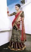 Embroidered Indian Wedding Saree