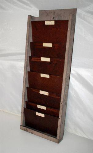 Vintage File Holder Ebay