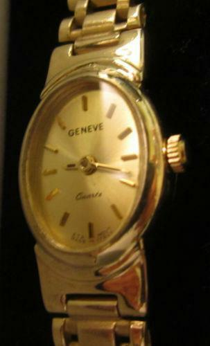 Geneve 14k Solid Gold Watch Ebay