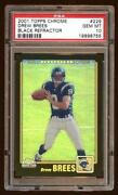 Drew Brees 2001 Chrome