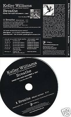 Keller Williams Breathe Promo Cd String Cheese Incident